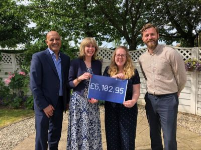 ANLP raises over £6,000 in support of Mind BLMK